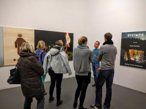 In der Ausstellung – Foto: Bernd Stegmann