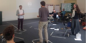 Spielszene beim Workshop Scenario Enactment